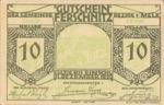 Austria, 10 Heller, FS 198g