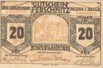 Austria, 20 Heller, FS 198a