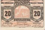 Austria, 20 Heller, FS 198b