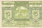 Austria, 10 Heller, FS 198f