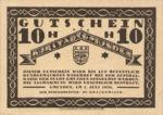 Austria, 10 Heller, FS 240III