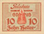 Austria, 10 Heller, FS 220b