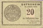Austria, 20 Heller, FS 276Ia