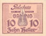 Austria, 10 Heller, FS 220a
