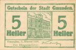 Austria, 5 Heller, FS 240I