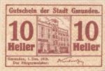 Austria, 10 Heller, FS 240I