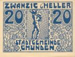 Austria, 20 Heller, FS 240IIa