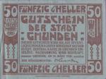 Austria, 50 Heller, FS 240IIa