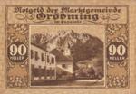 Austria, 90 Heller, FS 289b