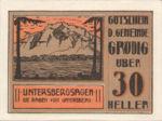Austria, 30 Heller, FS 290a