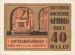 Austria, 40 Heller, FS 290a