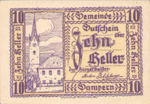 Austria, 10 Heller, FS 221