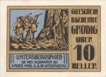 Austria, 10 Heller, FS 290c