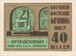 Austria, 40 Heller, FS 290e