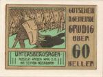 Austria, 60 Heller, FS 290f