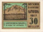 Austria, 30 Heller, FS 290fx