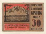 Austria, 30 Heller, FS 290h