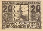 Austria, 20 Heller, FS 297a