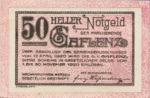 Austria, 50 Heller, FS 216