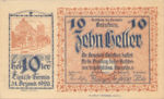 Austria, 10 Heller, FS 217a