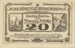 Austria, 20 Heller, FS 288IIIa