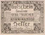 Austria, 20 Heller, FS 226a