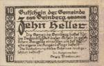 Austria, 10 Heller, FS 228a