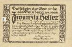 Austria, 20 Heller, FS 228a