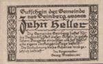 Austria, 10 Heller, FS 228b
