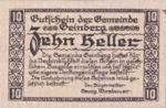 Austria, 10 Heller, FS 228e