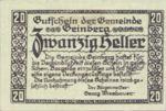 Austria, 20 Heller, FS 228e