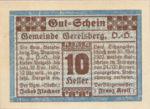 Austria, 10 Heller, FS 231a