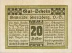 Austria, 20 Heller, FS 231a