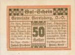 Austria, 50 Heller, FS 231a