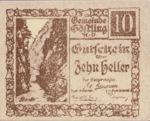 Austria, 10 Heller, FS 243a