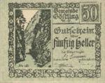 Austria, 50 Heller, FS 243a