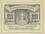 Austria, 20 Heller, FS 278Ib