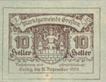 Austria, 10 Heller, FS 278Ic