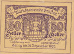 Austria, 50 Heller, FS 278Id