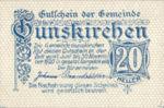 Austria, 20 Heller, FS 309Ia