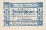 Austria, 20 Heller, FS 309II