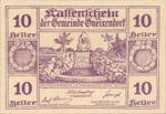 Austria, 10 Heller, FS 241IIc1.1b