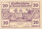 Austria, 20 Heller, FS 241IIc1.1b