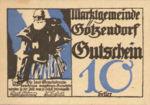 Austria, 10 Heller, FS 246IIa