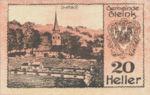 Austria, 20 Heller, FS 237a