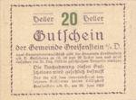 Austria, 20 Heller, FS 275e
