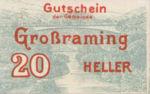 Austria, 20 Heller, FS 296I
