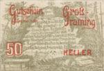 Austria, 50 Heller, FS 296I