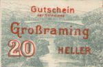 Austria, 20 Heller, FS 296Ix