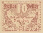 Austria, 10 Heller, FS 303Ia